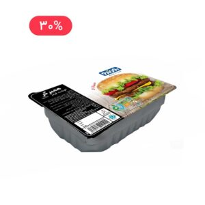 همبرگر گوشت قرمز 90% 450 گرمی بون آدو