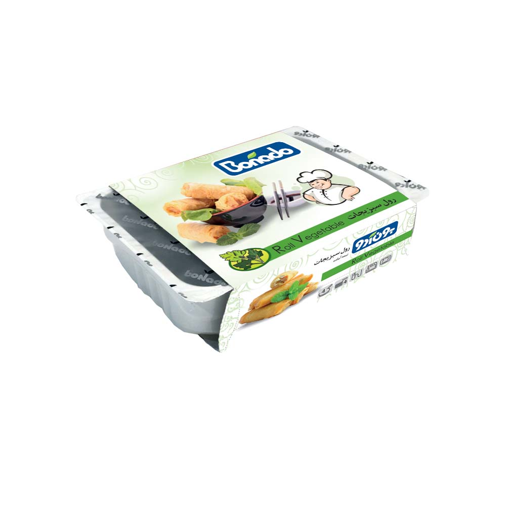 اسپرینگ رول سبزیجات بون آدو