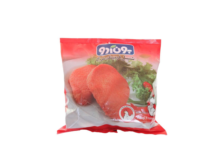 شنیسل فرمینگ مرغ 950 گرمی بون آدو