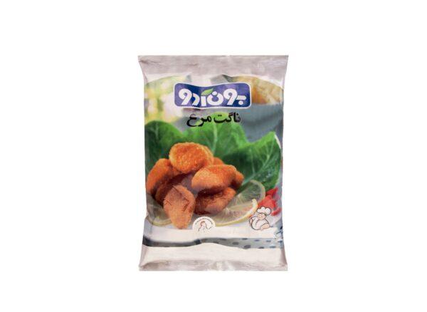 ناگت مرغ آماده 950 گرمی بون آدو