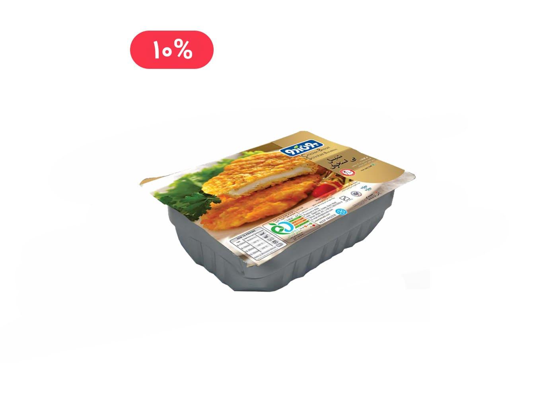 شنیتسل مرغ بی استخوان 480 گرمی بون آدو