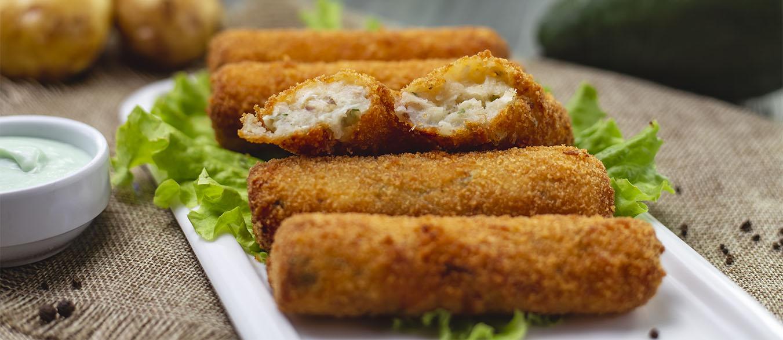 کراکت مرغ و پنیر