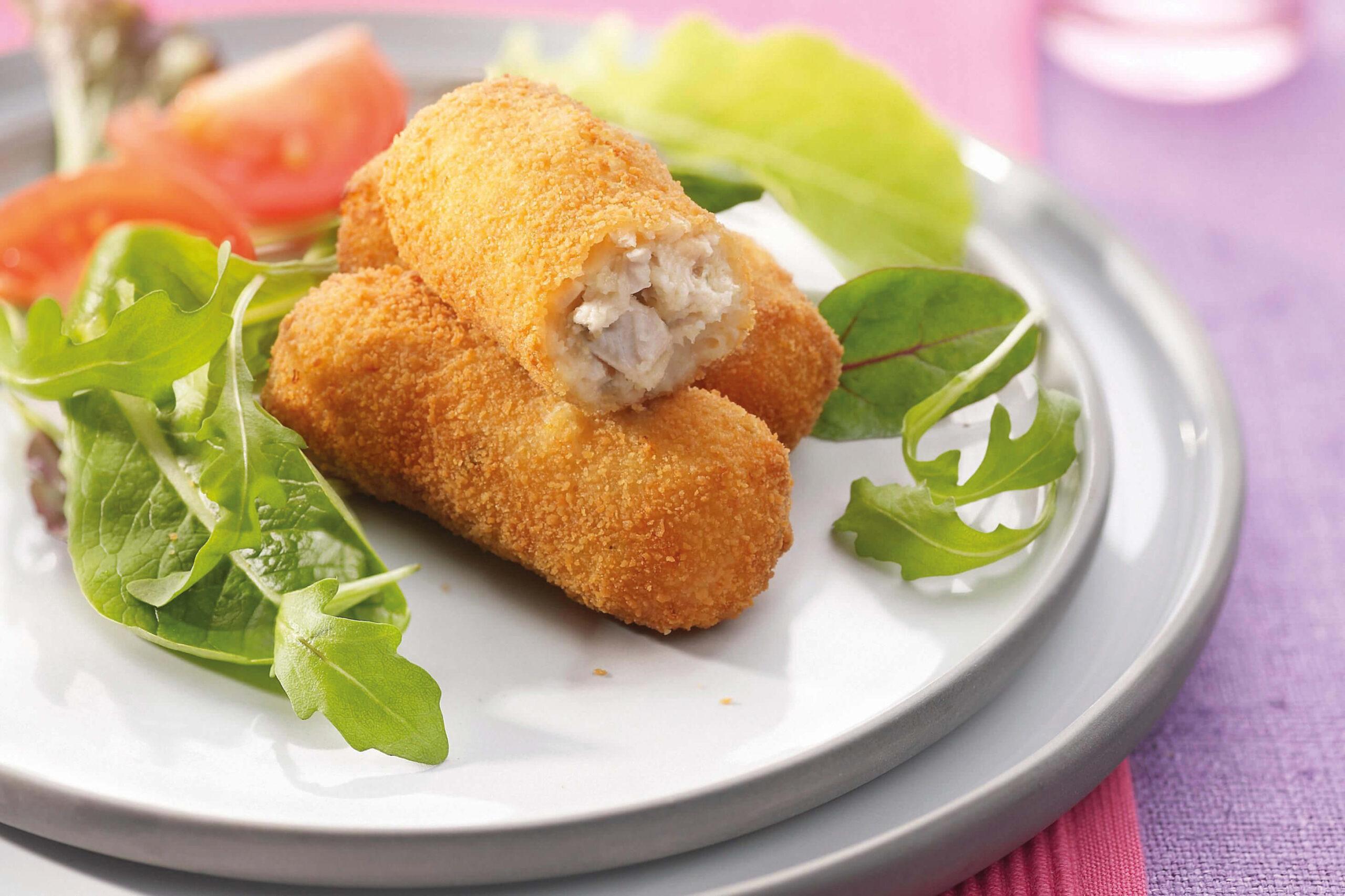کراکت مرغ و پنیر بون آدو