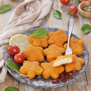 ناگت مرغ ستاره ای بون آدو