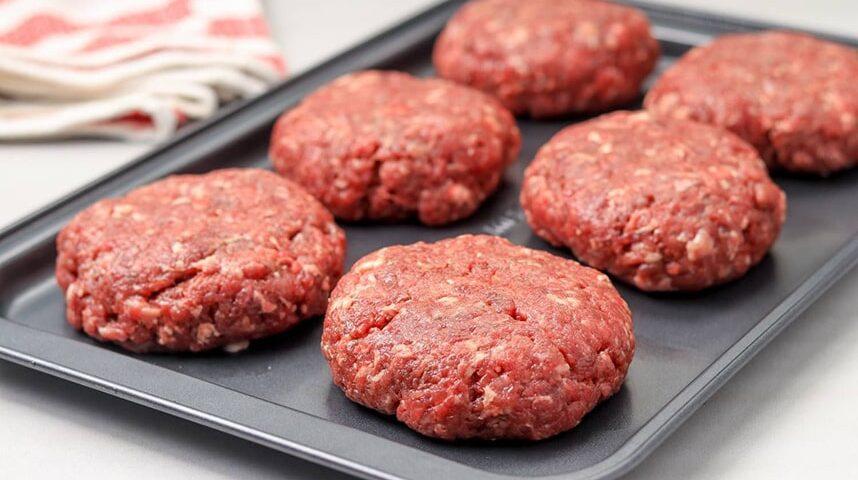 پخت همبرگر آماده در فر