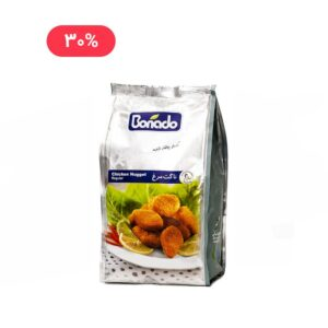 ناگت مرغ آماده 450 گرمی بون آدو