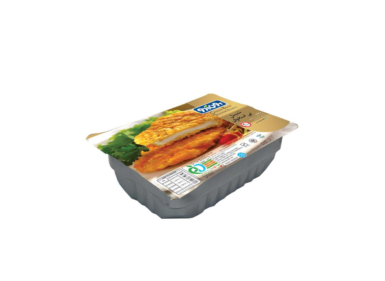شنیتسل مرغ بی استخوان آماده 480 گرمی بون آدو
