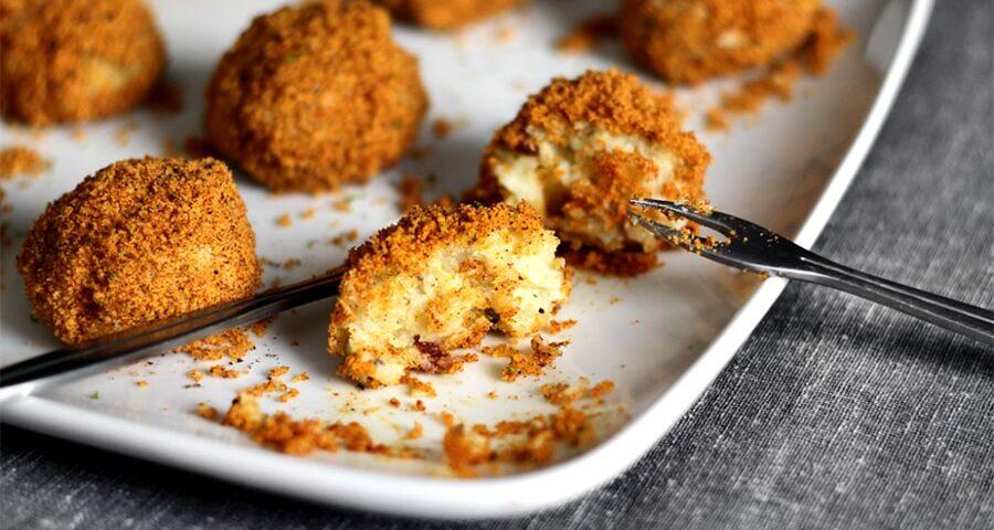 طرز تهیه ناگت مرغ با پنیر